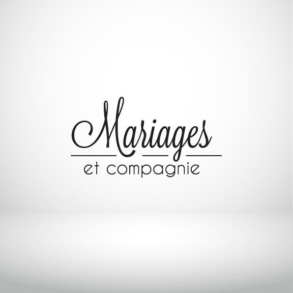 Création logo image de marque Mariage graphisme