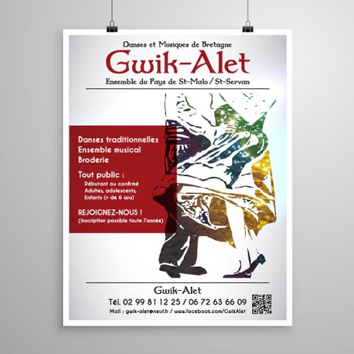 graphiste saint-malo affiche bretagne